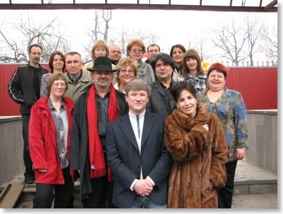 Una Delegación de Amusement Logic y de  Arquitectura Tecno-Temática visita la ciudad de Perm