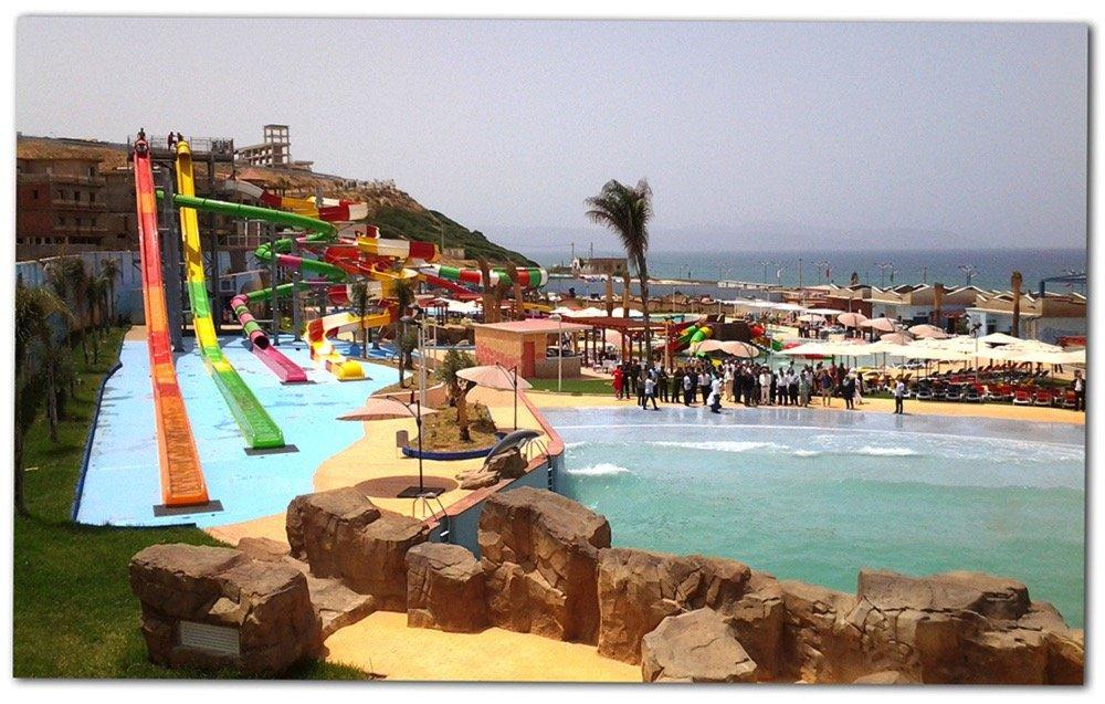 Inauguramos un parque acuático en Argelia