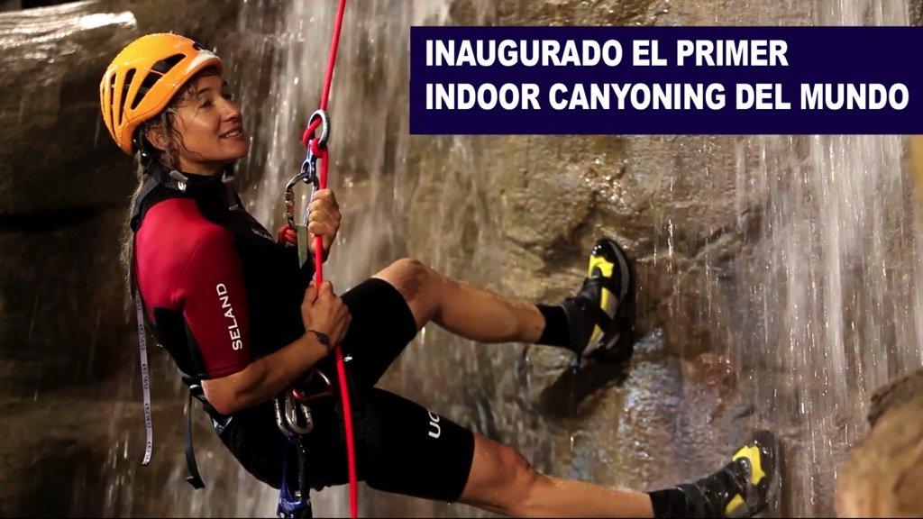 Inaugurado el primer Indoor Canyoning del mundo