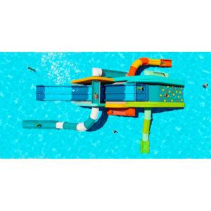 Nuevos juegos para piscinas infantiles: SlideWall