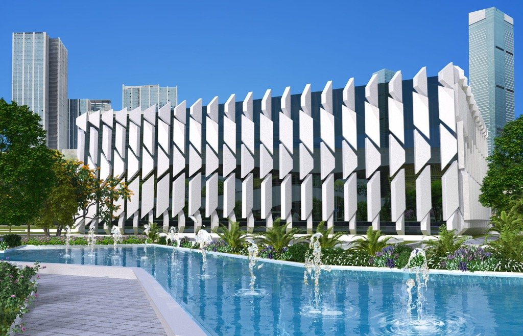 Arquitectura piel edificio