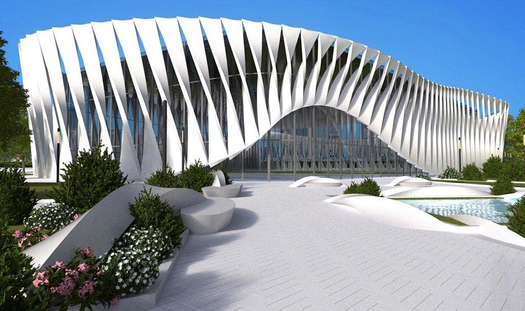La Piel del Edificio: pabellón de deportes multifuncional