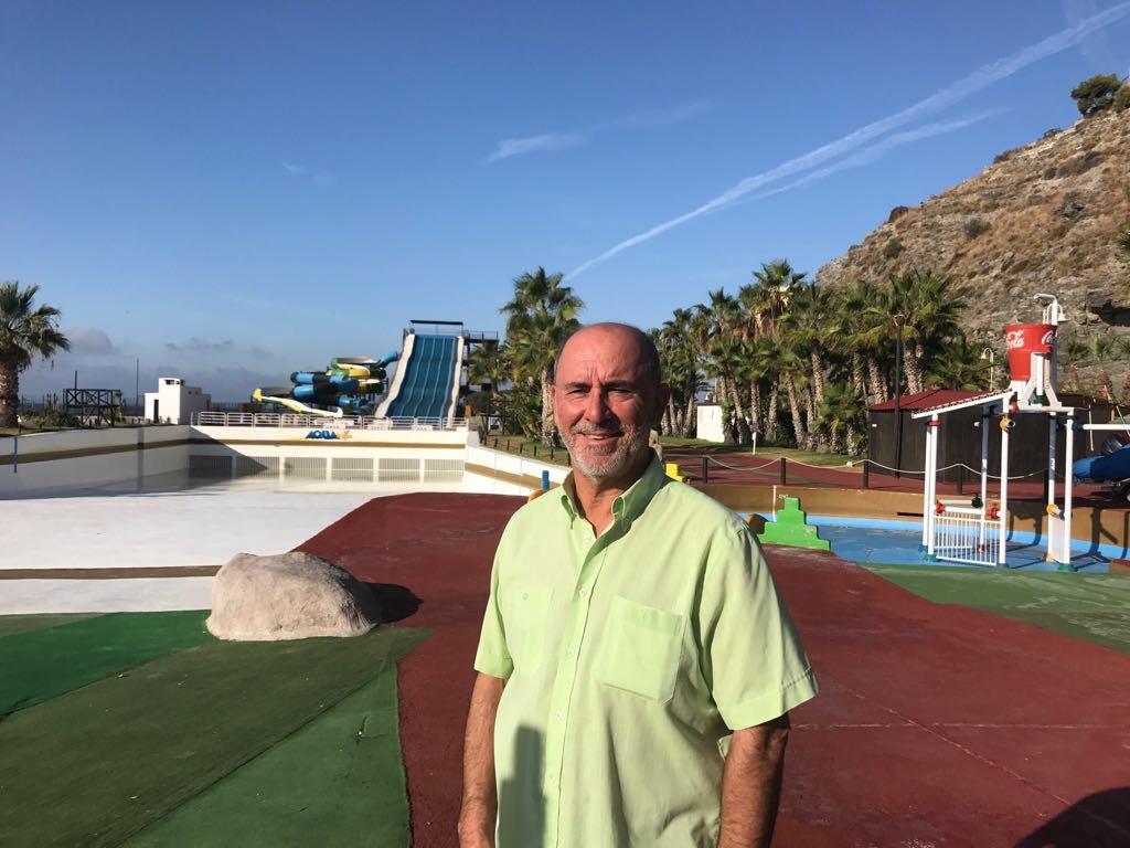 Entrevista a Vicente Barbero, gerente del parque acuático Aqua Trópic