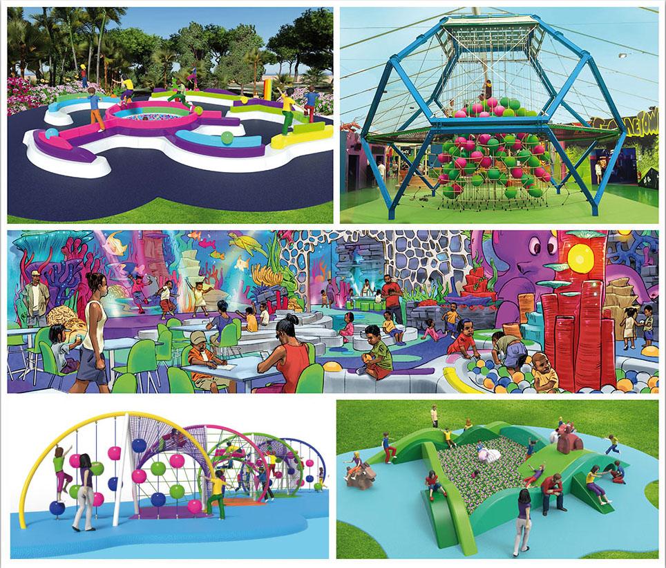 PlayLogic, nuevo catálogo de parques infantiles