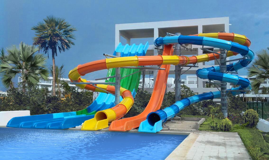 Nuevo parque acuático en el Hotel Riu República