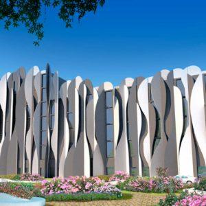 La Piel del Edificio: Nueva fachada cinética