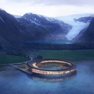 Este impresionante hotel en el Ártico producirá más energía de la que consuma