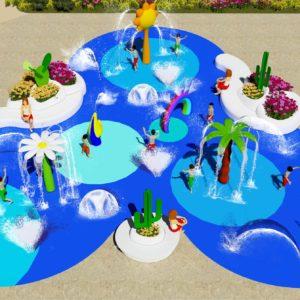 Nuevo proyecto de splash pad en Fuerteventura