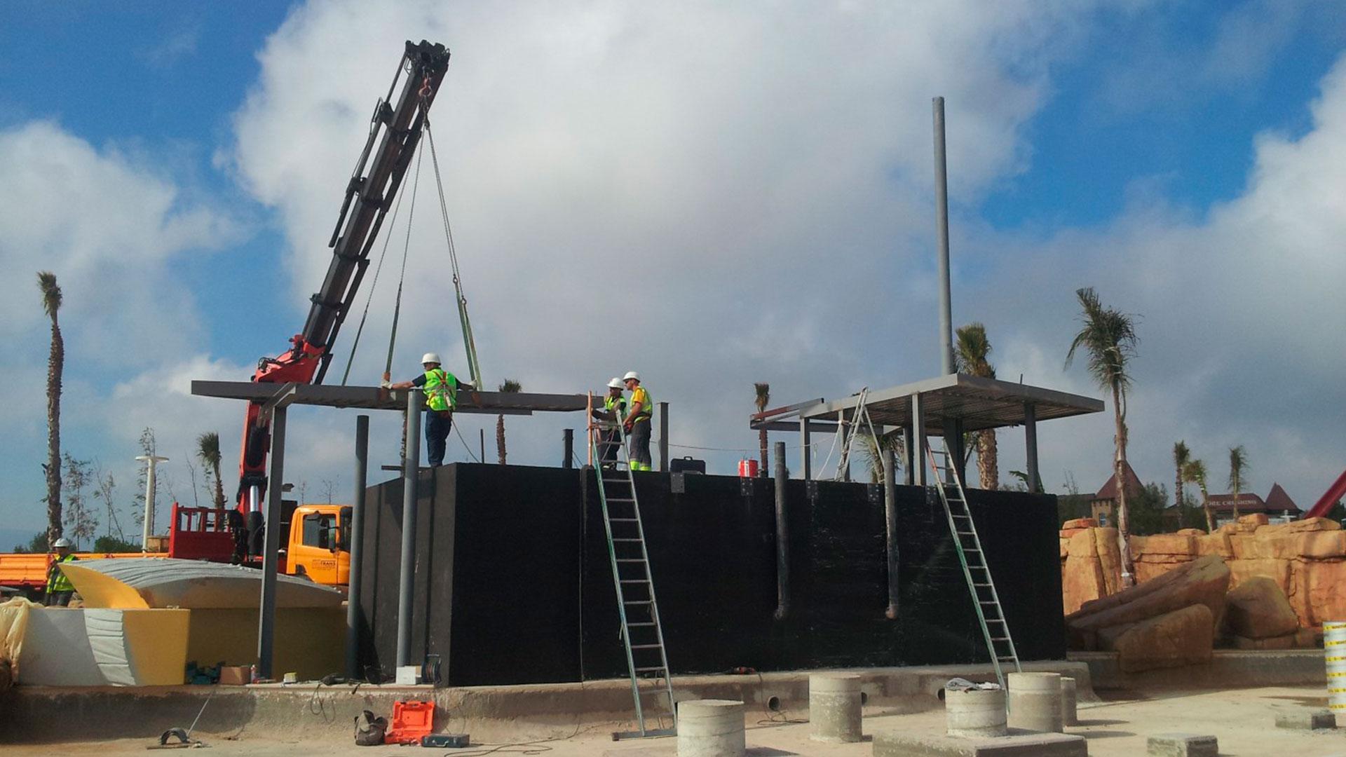 Construcción proyecto ocio