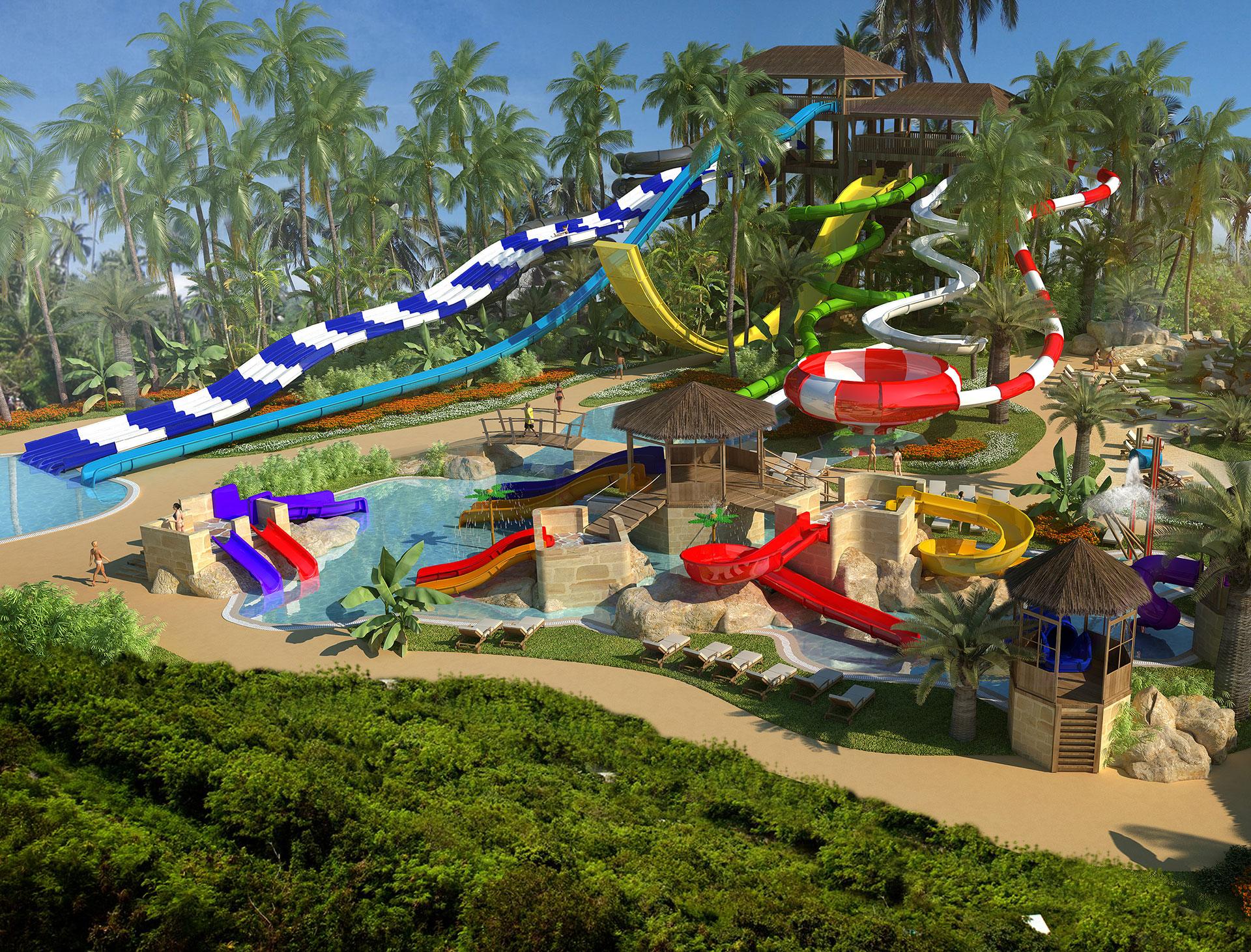 Diseño y construcción parque acuático