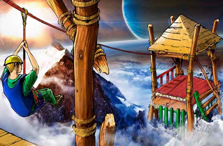 Proyecto diseño parque aventura