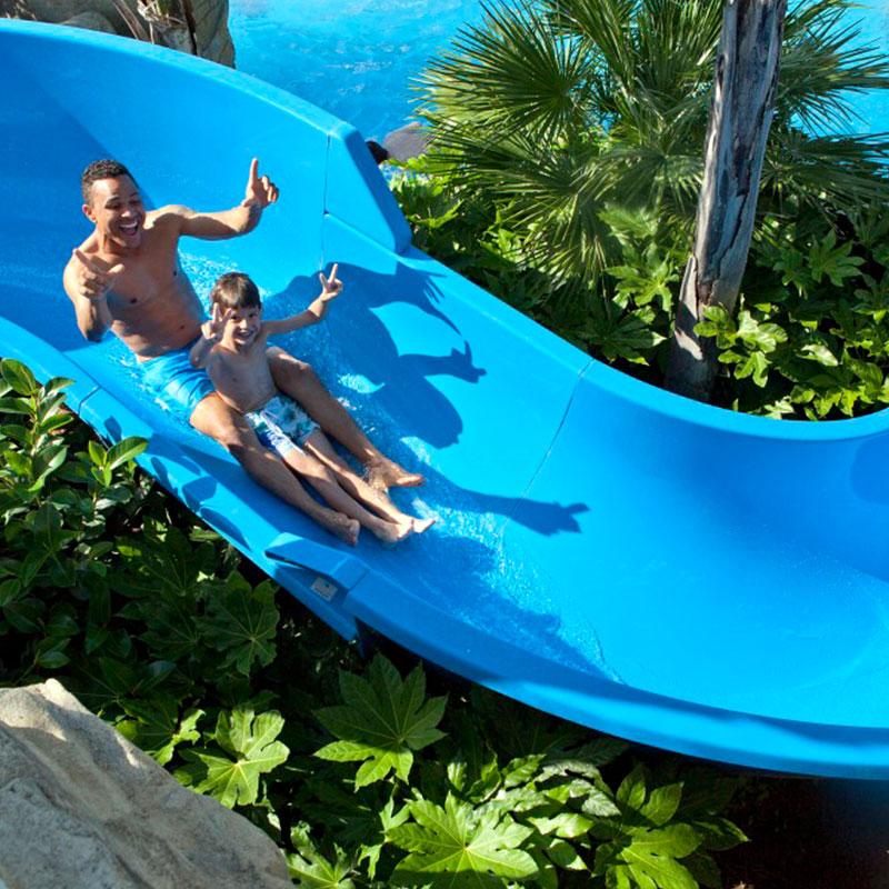Proyecto piscina lúdica temática