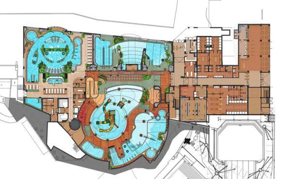 Avanza el proyecto del primer parque acuático cubierto en la península Ibérica