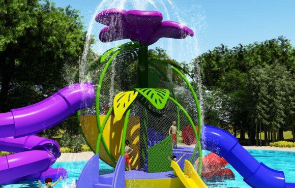 Adventure Flower, nuevo parque de agua interactivo