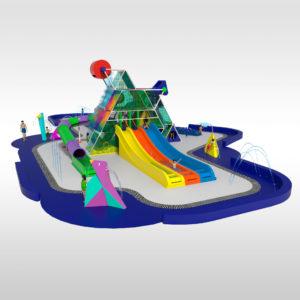Un nuevo parque acuático interactivo: El Pyramyd