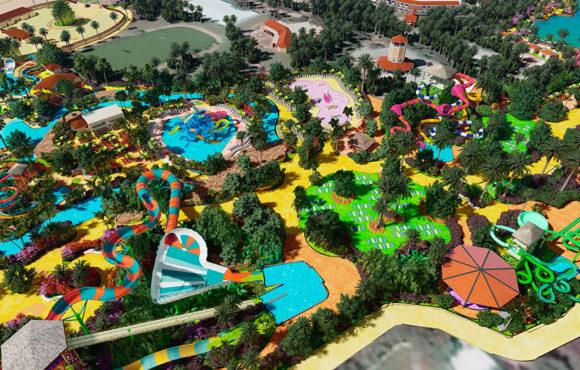 Remodelación integral parque acuático Shankus