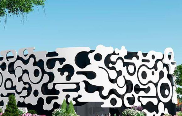 La piel del edificio: un ejercicio de abstracción lírica.