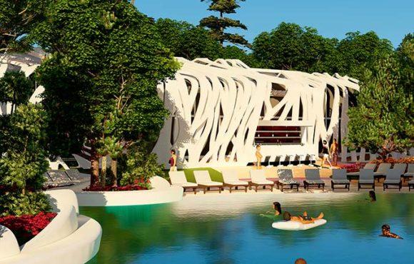 Arquitectura en Parques Acuáticos: mejorando la experiencia conteniendo los costes.