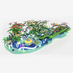 Splash Track: circuito acuático de aventura.