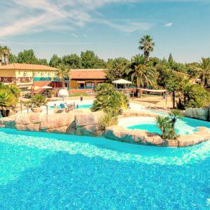 En La Sirène, el parque acuático más bello de los campings franceses.
