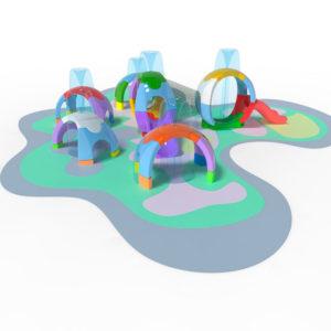 Espherium: nuevos juegos infantiles para Splash Pad