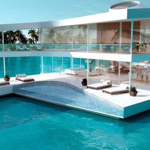 Construcciones flotantes, tendencia sostenible