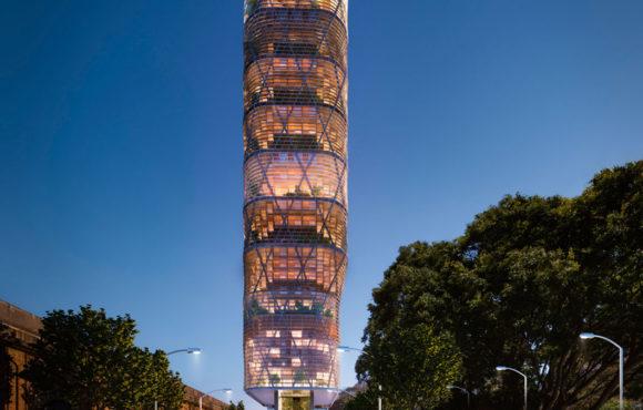 La torre híbrida más alta del mundo (+vídeo)