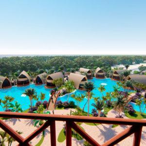 Proyecto arquitectónico por Amusement Logic: Bangladesh Gran Resort