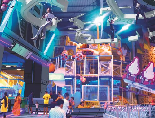 Diseño de un centro de entretenimiento familiar: Lulu Mall Kochi