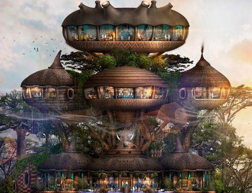 Un zoo inverso: el WorldWild de Bill Bensley en China